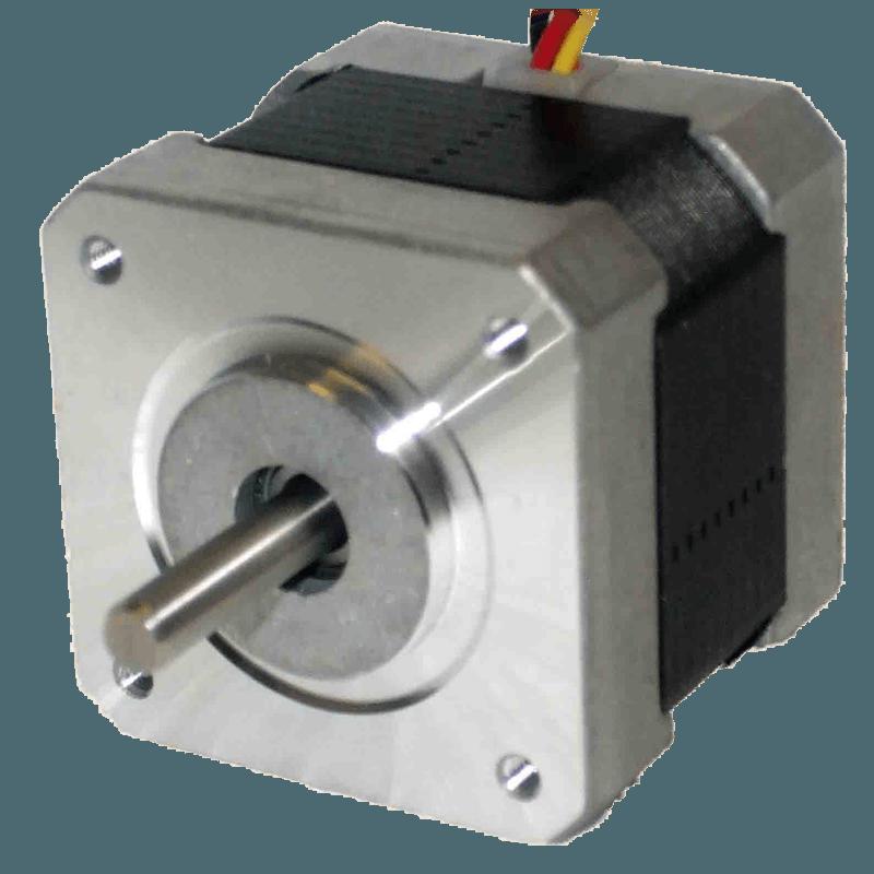 My17hd1-2 stepper motor 1. 8° 40 ncm, 0. 5a, 25 ohm 4 wire astrosyn.